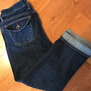 Lucky Sweet 'n Crop Jeans size 10/30